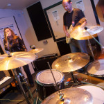 Bands rehearsing at Groove Tunnel Studios